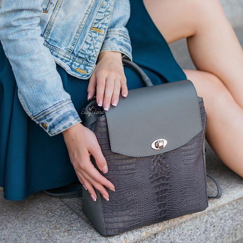 Магазин сумок Vezze Кожаный женский рюкзак C00531 - фото 2
