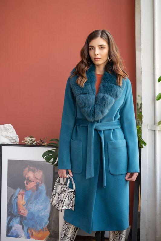 Верхняя одежда женская Elema Пальто женское зимнее 7-7865-1 - фото 2