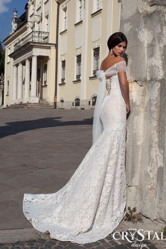 Свадебный салон Crystal Платье свадебное Bianca - фото 2