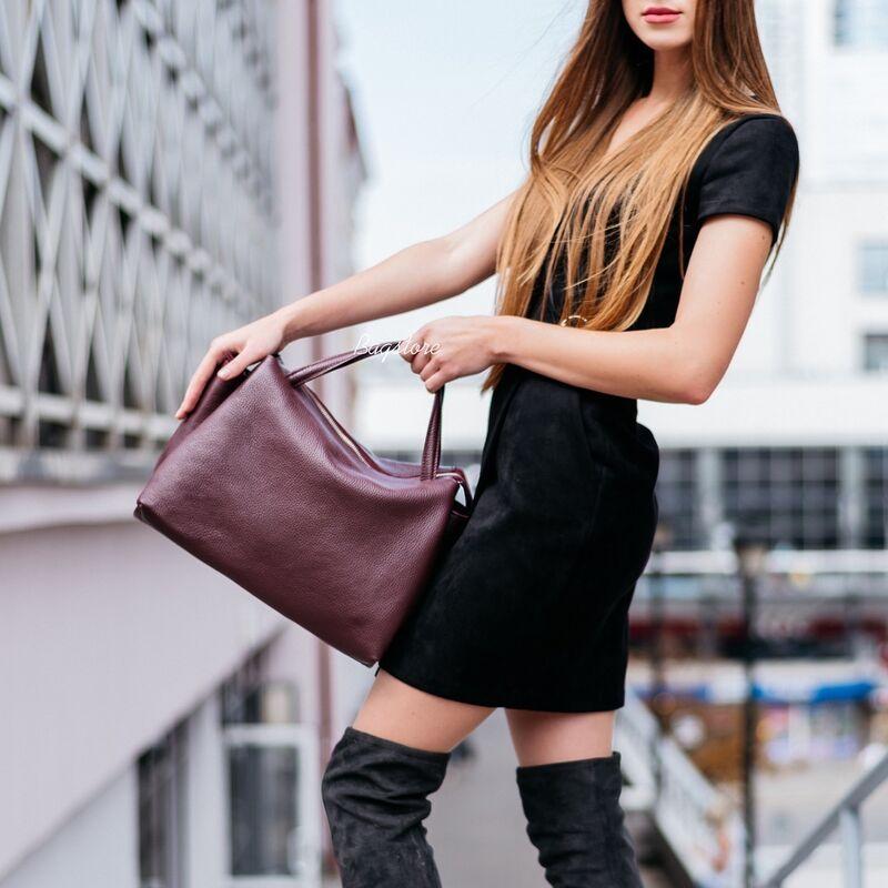 Магазин сумок Vezze Кожаная женская сумка C00534 - фото 1