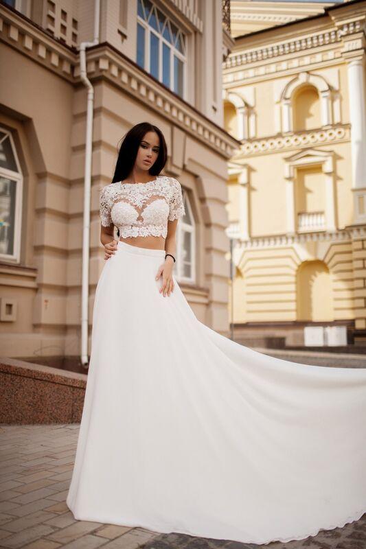 Свадебный салон Crystal Платье свадебное Karina - фото 3