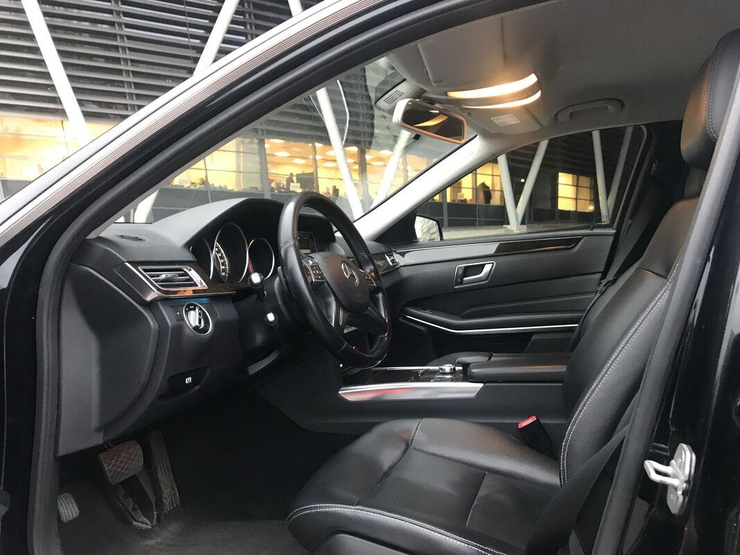 Аренда авто Mercedes-Benz E-class W212 чёрный - фото 4