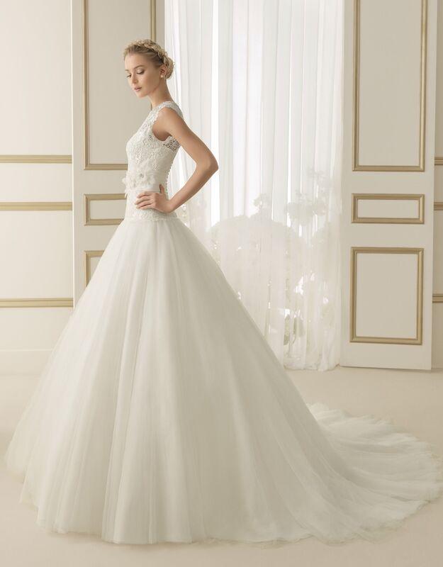 Свадебное платье напрокат Rosa Clara Платье свадебное Ember - фото 1