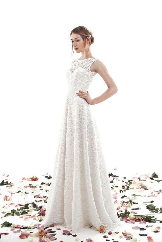 Свадебный салон UNONA Свадебное платье «Rebecca» из коллекции AMBER - фото 1