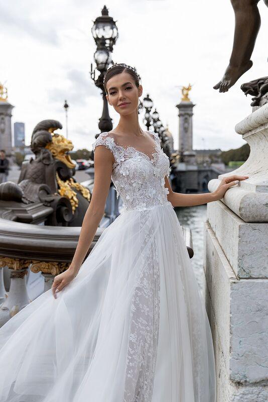 """Свадебное платье напрокат ALIZA свадебное платье """"Celinny"""" - фото 1"""