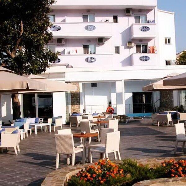 Туристическое агентство Клеопатра-тур Пляжный авиатур в Грецию, о. Тасос, Lido Hotel 3* - фото 1