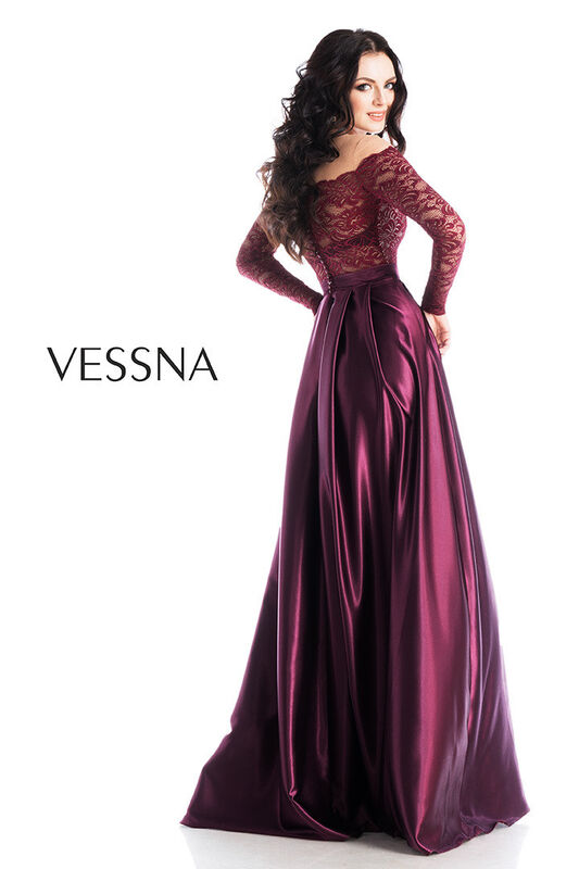 Вечернее платье Vessna Вечернее платье арт.1238 из коллекции VESSNA NEW - фото 2