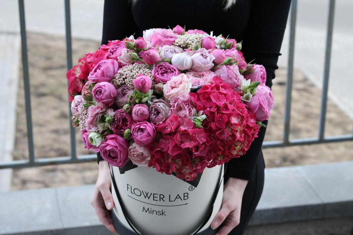 Магазин цветов Cvetok.by Композиция «Малиновый поцелуй» - фото 1