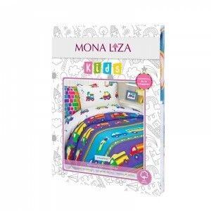 Подарок Mona Liza Детское постельное бельё Машинки - фото 2