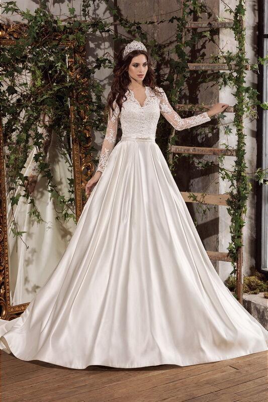 Свадебное платье напрокат Nora Naviano Платье свадебное Belinda - фото 1