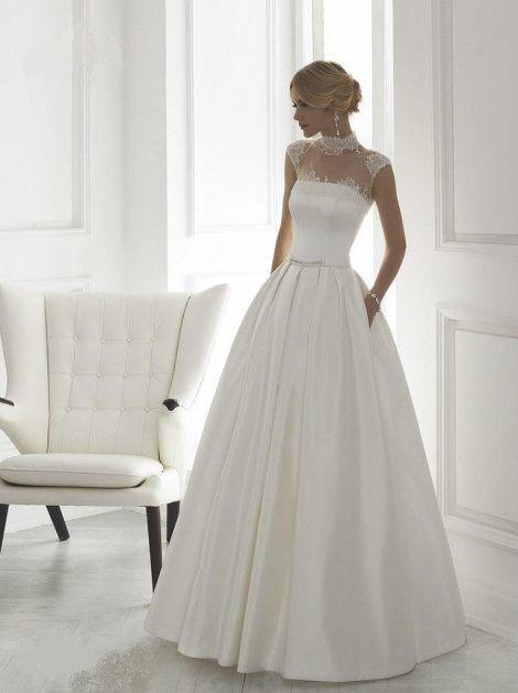 Свадебное платье напрокат Destiny Collection Плaтье свадебное 1504 - фото 1