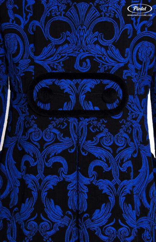 Верхняя одежда женская Pintel™ Двубортное жаккардовое мини-пальто Vania - фото 6