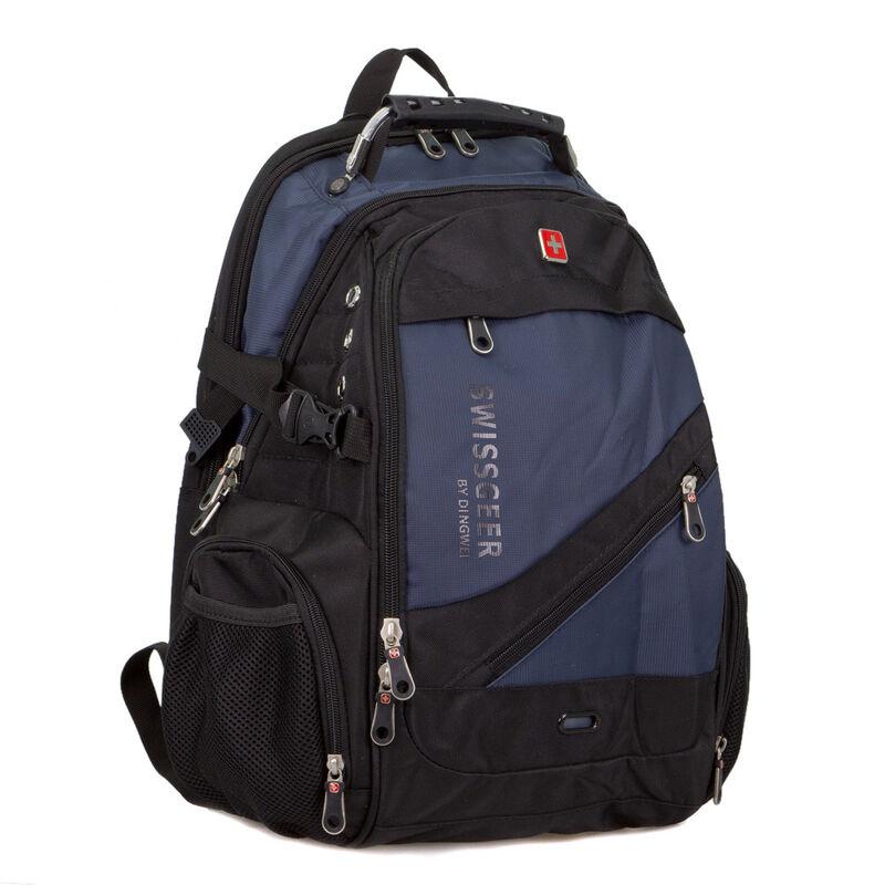 Магазин сумок SwissGear Рюкзак мужской синий 205-983017 - фото 1