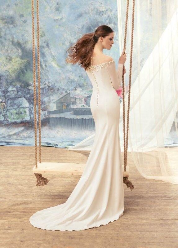 Свадебный салон Papilio Свадебное платье «Альбатрос» 1712L - фото 2