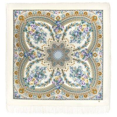 Шарф и платок Павловопосадская мануфактура Платок шерстяной «Слова любви» - фото 1