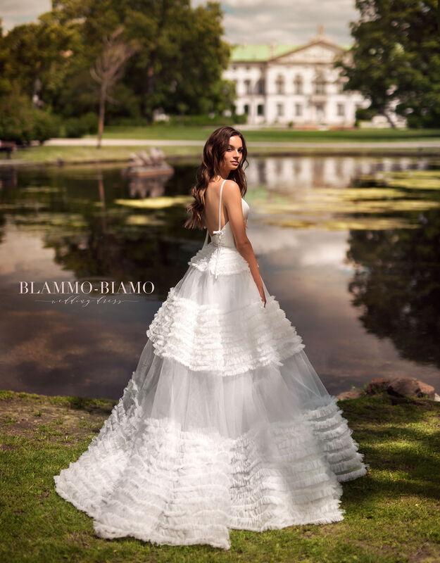 Свадебный салон Blammo-Biamo Свадебное платье The Rice Sabrina - фото 2