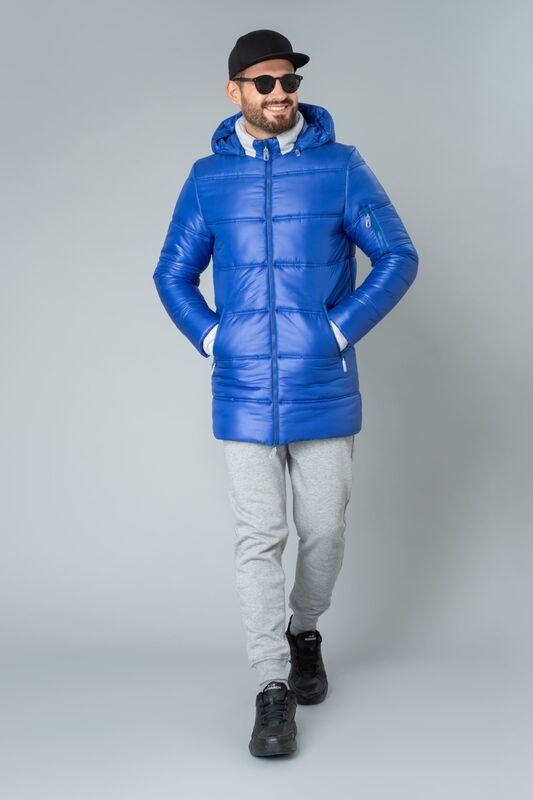 Верхняя одежда мужская Etelier Куртка мужская плащевая утепленная 4М-9469-1 - фото 2