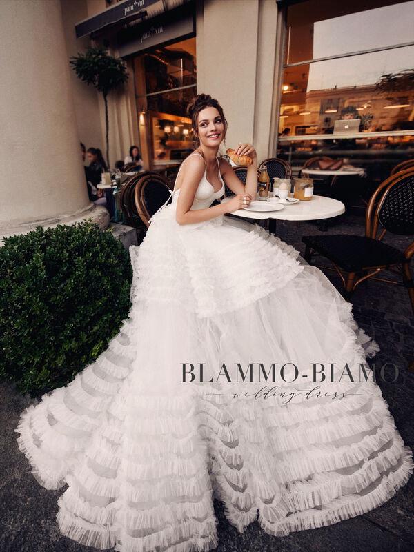 Свадебный салон Blammo-Biamo Свадебное платье The Rice Sabrina - фото 3