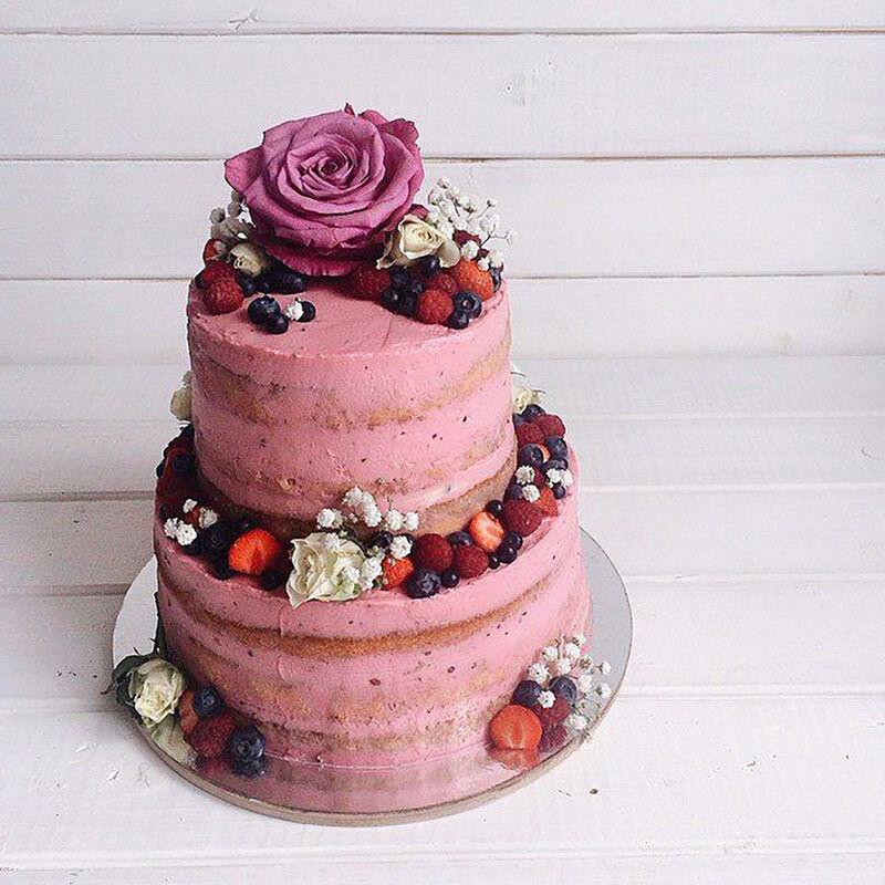 Торт DOLCE Свадебный торт «Без ума от любви» - фото 1