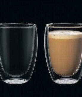 Подарок Cilio Набор стаканов для капучино с двойными стенками, 350 мл, 292626 - фото 1