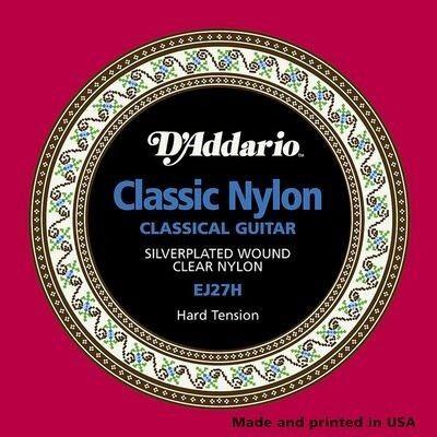 Музыкальный инструмент D'Addario Струны для классической гитары EJ27H - фото 1