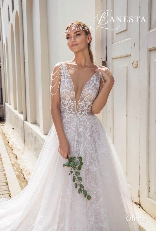 Свадебный салон Lanesta Свадебное платье Olivia - фото 3