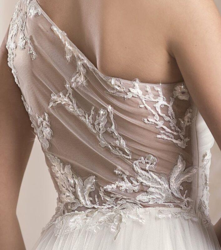 Свадебный салон Belfaso Свадебное платье Шерил - фото 3