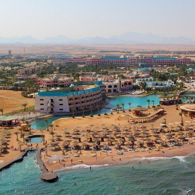 Туристическое агентство Айкью групп Пляжный авиатур в Египет, Хургада, Golden 5 Diamond Resort 5*, 10 ночей - фото 2