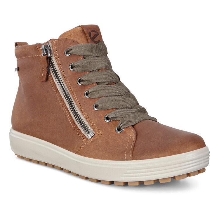 Обувь женская ECCO Кеды высокие SOFT 7 TRED 450163/02291 - фото 1