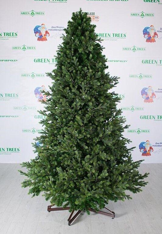 Елка и украшение GreenTrees Ель интерьерная «Европейская премиум», 4м - фото 1