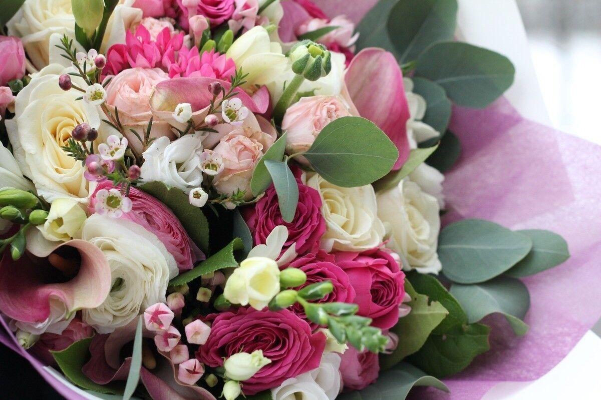 Магазин цветов Cvetok.by Букет «Ванильно-розовый» - фото 3