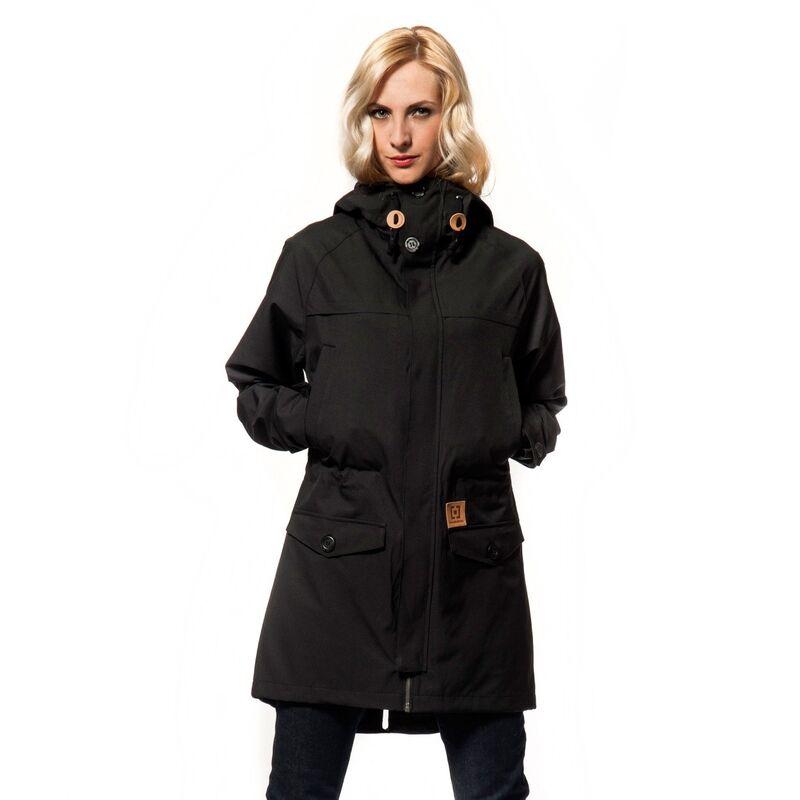 Спортивная одежда Horsefeathers Куртка парка Laika черная SW442A2 - фото 1