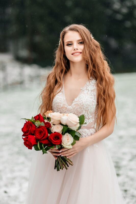 Свадебный салон Vanilla room Свадебное платье Роуз - фото 3