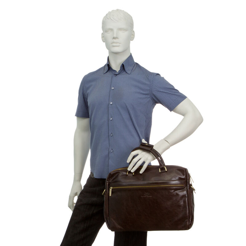 Магазин сумок Francesco Molinary Сумка мужская 513-6378-060 - фото 3