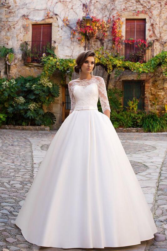 Свадебное платье напрокат Bonjour Платье свадебное «Zara» из коллекции LA SENSUALITE 2017 - фото 4