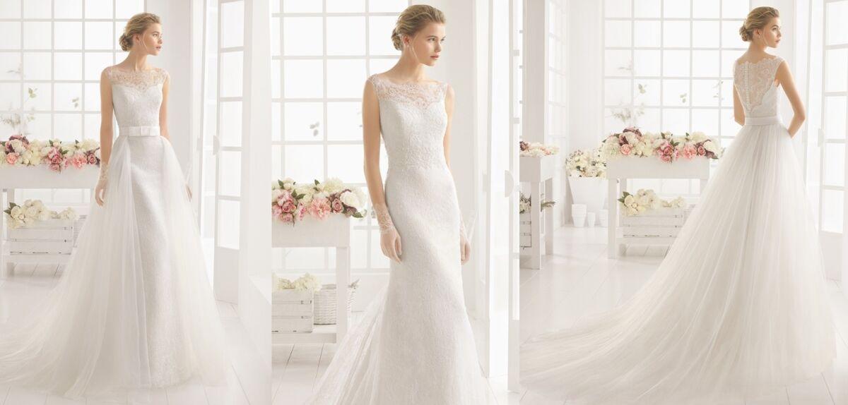 Свадебное платье напрокат Rosa Clara Платье свадебное Marquesa - фото 2