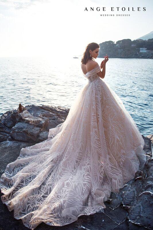 Свадебное платье напрокат Ange Etoiles Свадебное платье Ali Damore   Zoe - фото 2