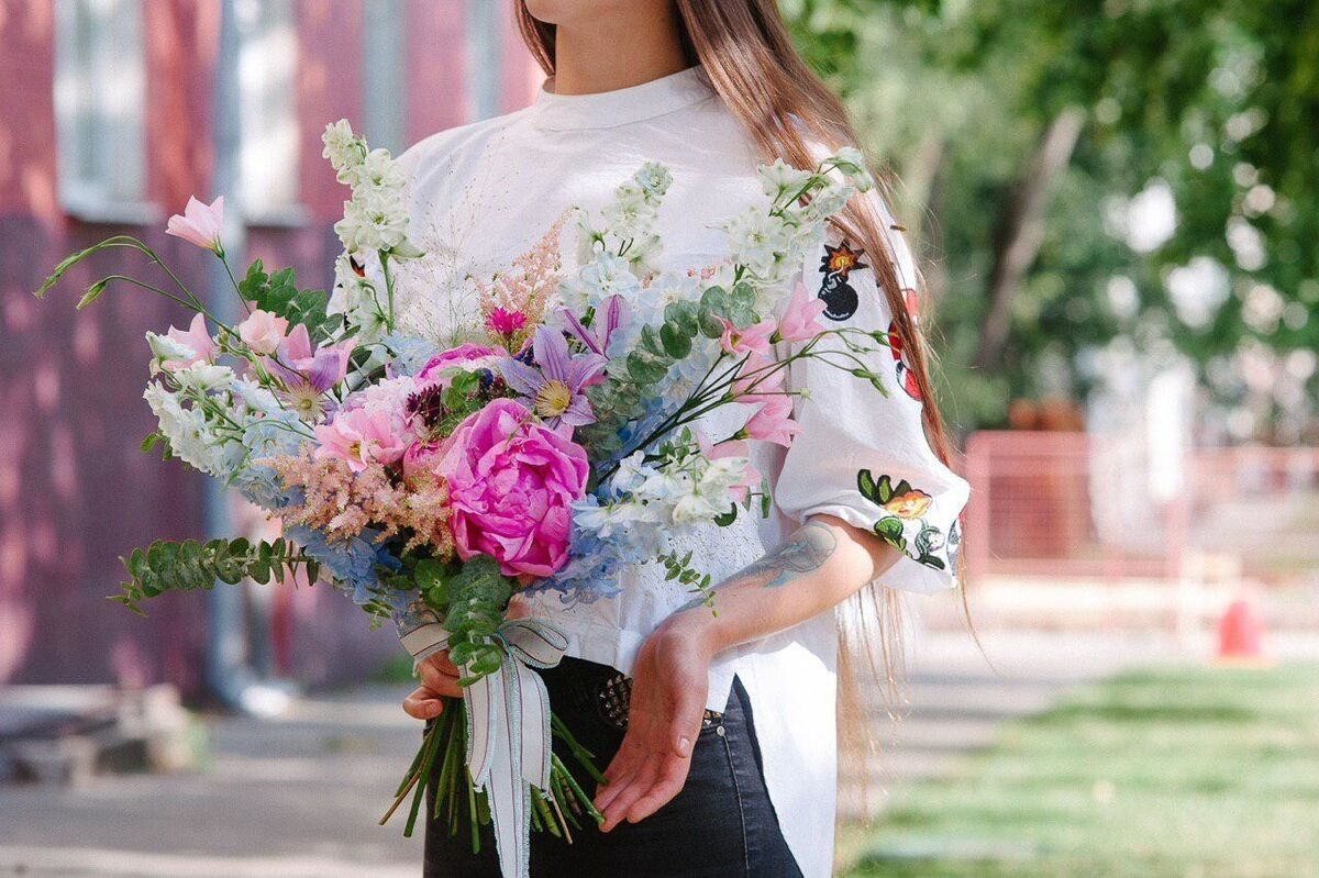 Магазин цветов Цветы на Киселева Букет «Волшебный лес» - фото 1