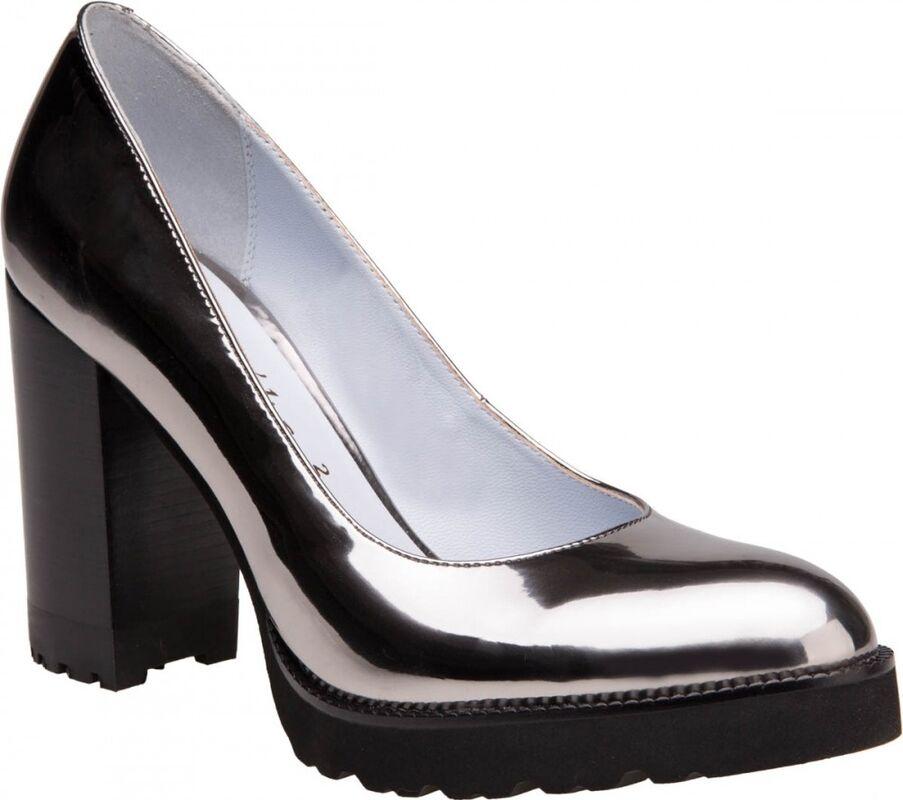 Обувь женская Ekonika 2 Туфли женские 1061-05 nikel - фото 1