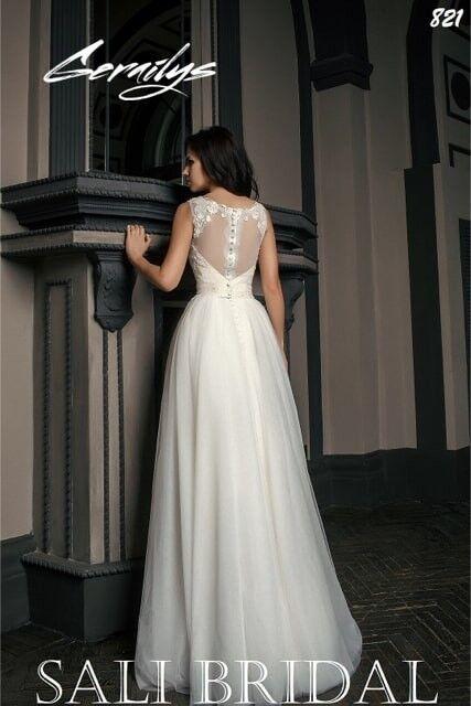 Свадебный салон Sali Bridal Свадебное платье 821 - фото 2