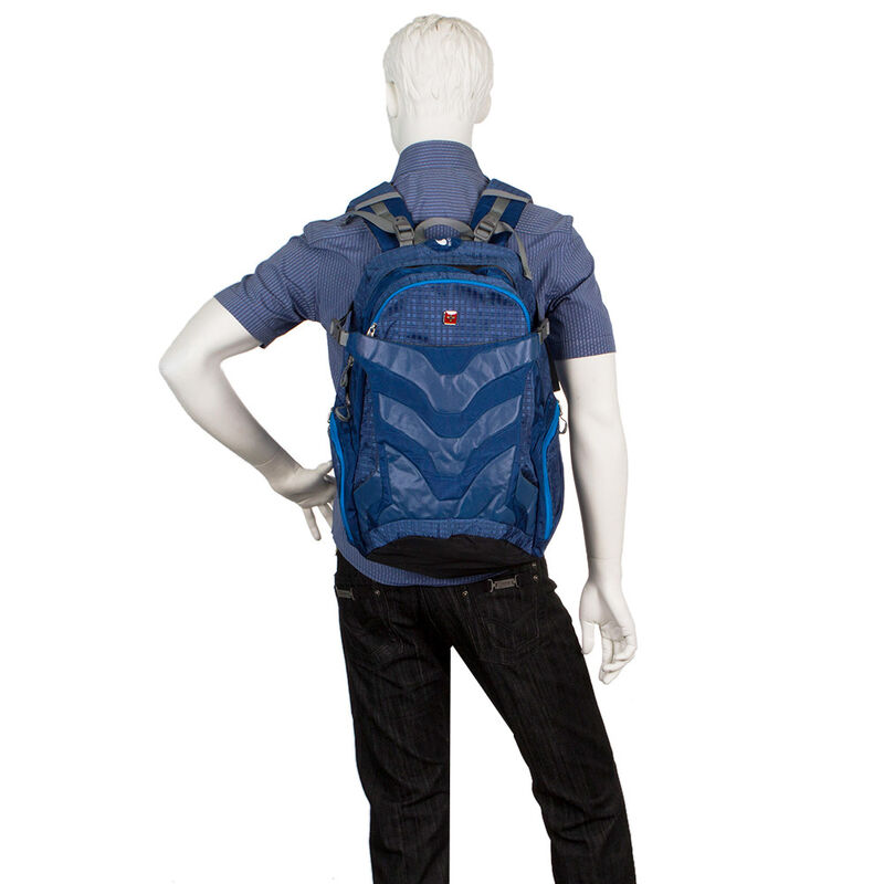 Магазин сумок SwissGear Рюкзак универсальный синий 205-15028 - фото 2