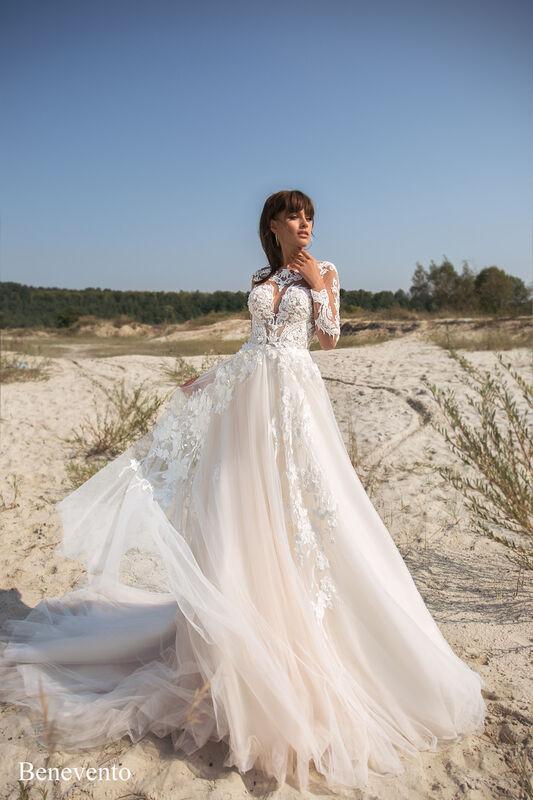 Свадебный салон Aivi Свадебное платье Benevento (New Collection) - фото 1