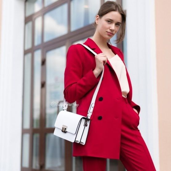 Магазин сумок Vezze Кожаная женская сумка C00495 - фото 2