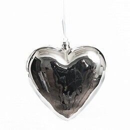 Елка и украшение Eurotrading Подвеска в виде сердца, 18 см - фото 1