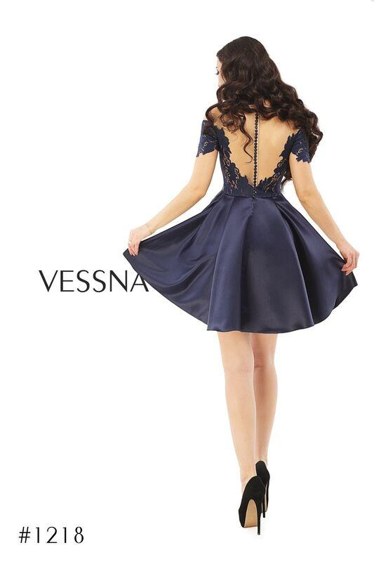 Вечернее платье Vessna Коктейльное платье арт.1218 из коллекции VESSNA Party - фото 2