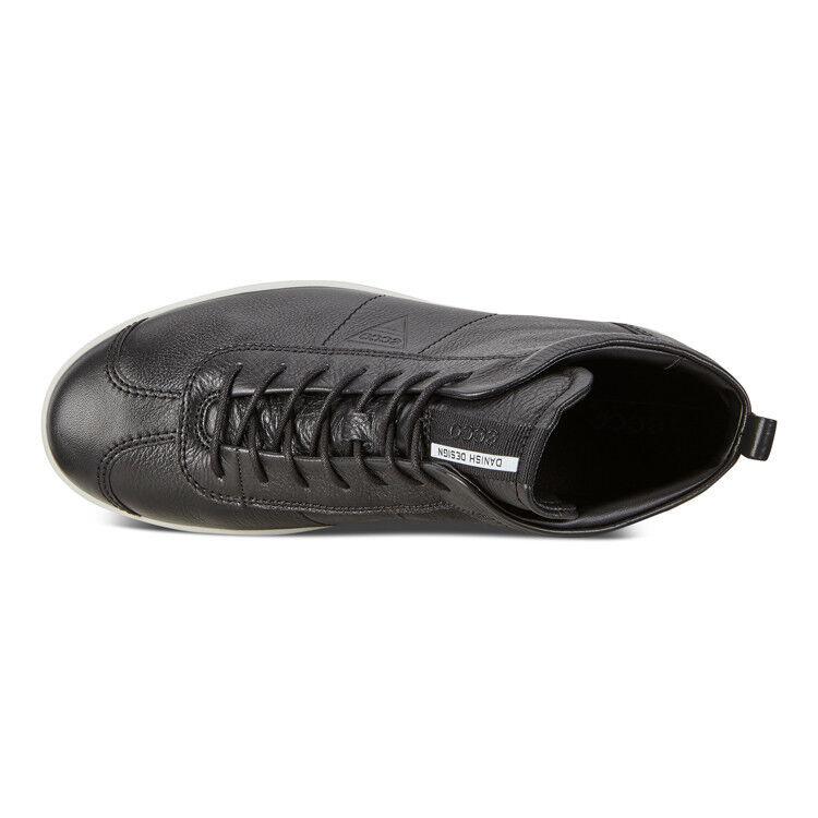 Обувь мужская ECCO Кеды высокие SOFT 1 400524/01001 - фото 6