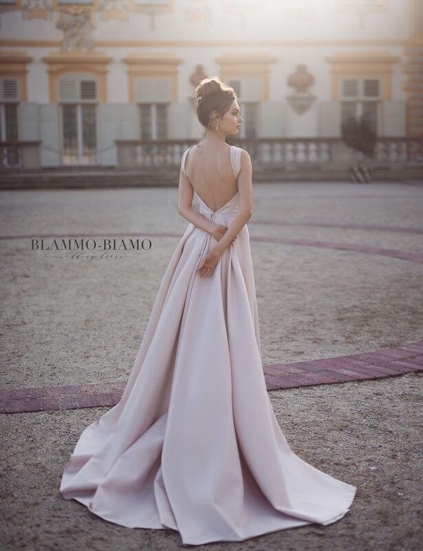 Свадебное платье напрокат Blammo-Biamo Платье свадебное The Rice Lolis - фото 3