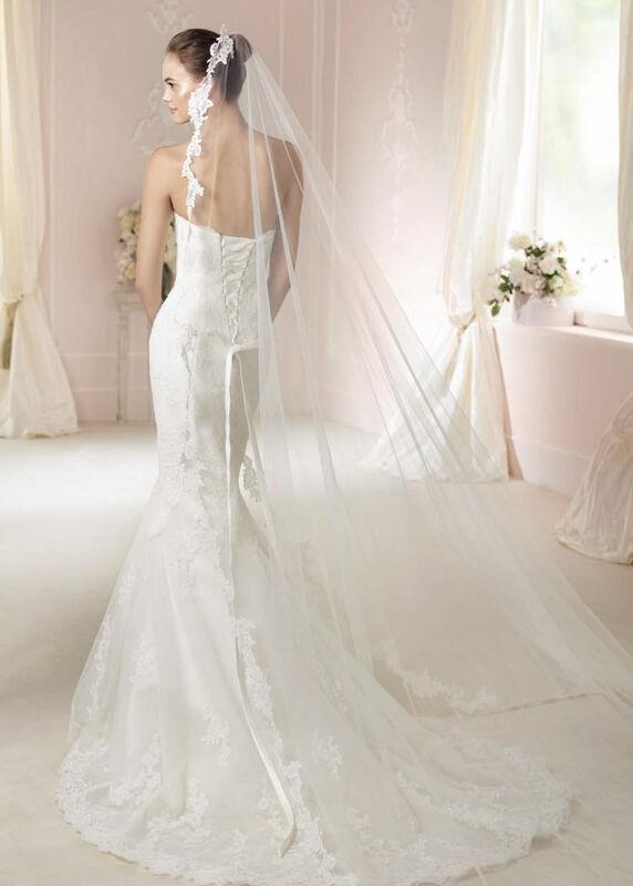 Свадебное платье напрокат White One (Pronovias) Платье свадебное «Jackie» - фото 2