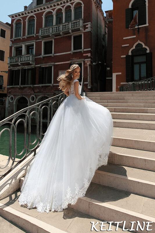 Свадебный салон Bonjour Galerie Свадебное платье Keitline из коллекции La Douceur - фото 2