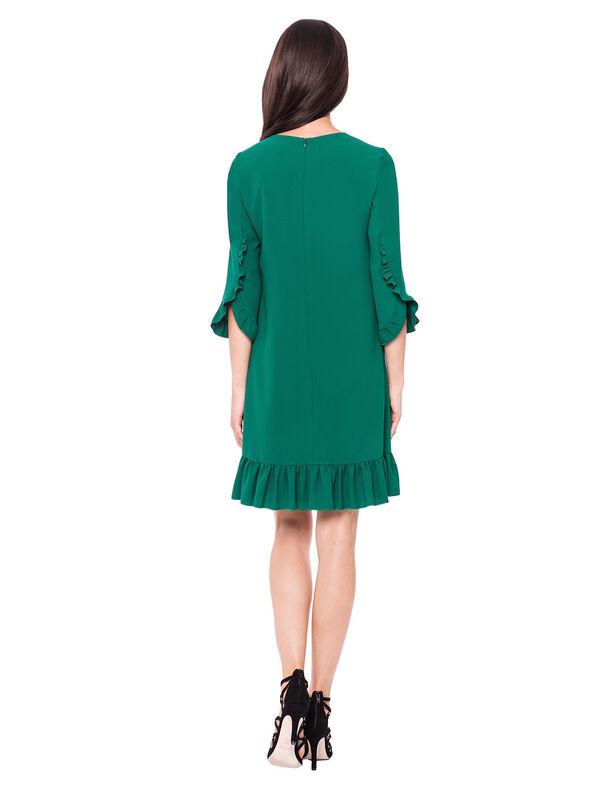 Платье женское L'AF Платье Arize 39YL (зелёное) - фото 2